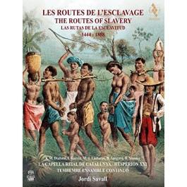 Jordi Savall Les Routes De Lesclavage Book Boxset SACD2+DVD