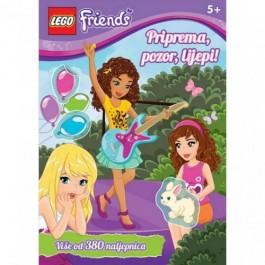 Lego Friends Priprema, Pozor, Lijepi VJEŽBENICA