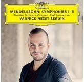 Yannick Nezet-Seguin Mendelsson Symphonies 1-5 CD3