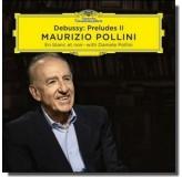 Maurizio Pollini Debussy Preludes Ii, En Blanc Et Noir CD