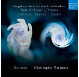 Christopher Palameta Forgotten Chamber Works With Oboa CD