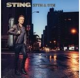Sting 57Th & 9Th Blue Vinyl 180Gr LP
