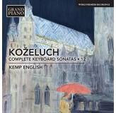 Kemp English Koželuch Complete Keyboard Sonatas CD