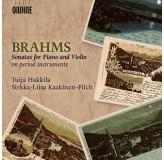 Tuija Hakkila Sirkka-Liisa Kaakinen-Pilch Brahms Sonatas For Piano & Violin CD