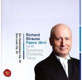 Paavo Jarvi Hnk Symphony Orch Tokyo Strauss Ein Heldenleben Op.40 CD