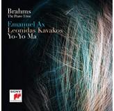 Emanuel Ax Leonidas Kavakos Yo-Yo Ma Brahms The Piano Trios CD