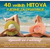 Razni Izvođači 40 Velikih Hitova Pjesme Za Opuštanje CD2