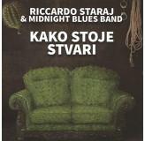Riccardo Staraj & Midnight Blues Band Kako Stoje Stvari CD