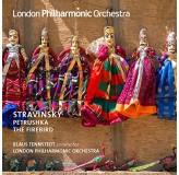 Klaus Tennstedt London Philharmonic Orc Stravinsky Petrushka, The Firebird CD