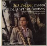 Art Pepper Art Pepper Meets The Rhythm Section LP