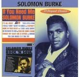 Solomon Burke Solomon Burke + If You Need Me CD