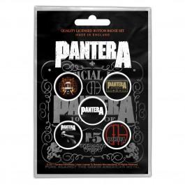Pantera Button Bagdes 5 Komada BADGE