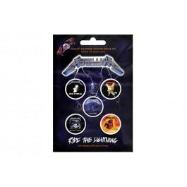 Metallica Button Badges 5 Komada BADGE