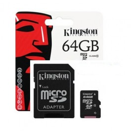 Sd Kartica 1Kingston Sd Mikro 64Gb Sd Card, Micro SD MIKRO