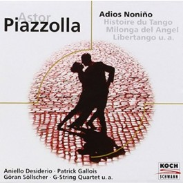 Various Artists Piazzolla Adios Nonino CD