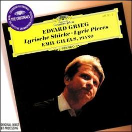 Emil Gilels Grieg Lyrische Stucke CD