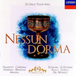 Various Artists Nessun Dorma 20 Great Tenor Arias CD
