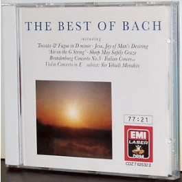 Various Artists Best Of Bach CD