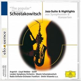 Various Artists Schostakovich Jazz-Suite & Highlights CD