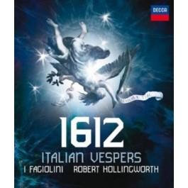 I Fagiolini Robert Hollingworth 1612 Italian Vespers BLU-RAY