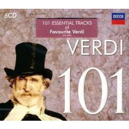 Various Artists Verdi 101 Verdi CD6