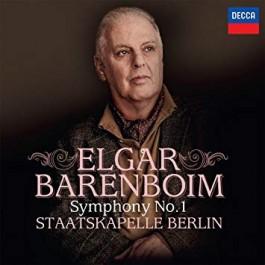 Daniel Barenboim Staatkapelle Berlin Elgar Symphony No.1 In A Flat CD
