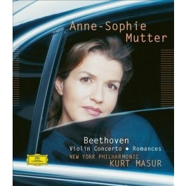Anne-Sophie Mutter New York Philharmonic Beethoven Violin Concerto, Romances High Quality Audio BLU-RAY