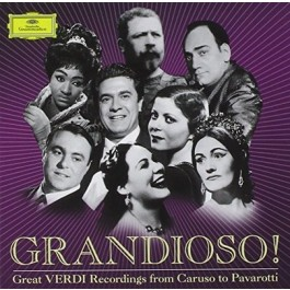 Various Artists Grandioso Great Verdi Recordings CD7