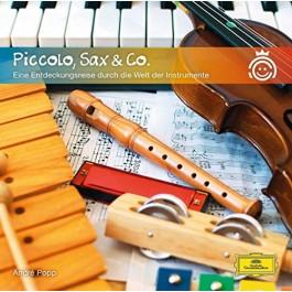Andre Popp Popp Piccolo, Sax & Co. CD