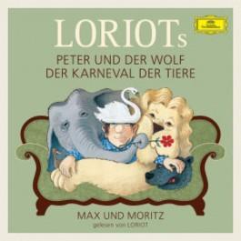 Loriot Peter Und Wolf, Der Karneval Der Tiere, Max Und Moritz CD