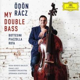 Odon Racz My Double Bass Bottesini, Piazolla, Rota CD