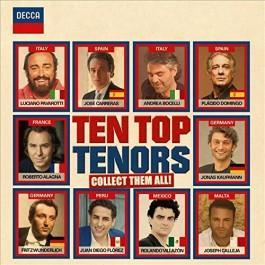 Various Artists Ten Top Tenors CD2