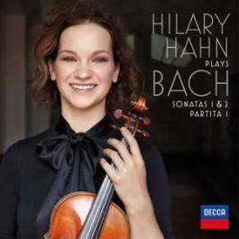 Hilary Hahn Bach Sonatas 1&2, Partita 1 LP2