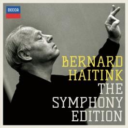 Bernard Haitink Royal Concertgebouw Orchestra Mahler Symphonies CD12+BLU-RAY AUDIO