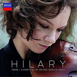 Hilary Hahn Abril 6 Partitas For Solo Violin LP