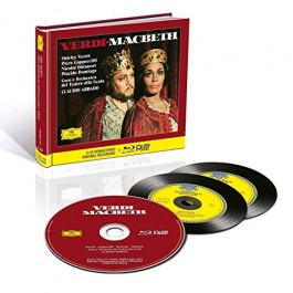 Shirley Verrett Piero Cappuccilli Verdi Macbeth CD2+BLU-RAY AUDIO