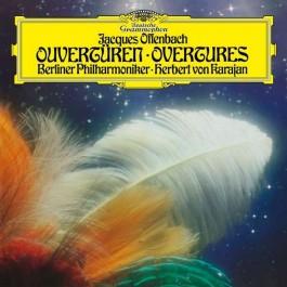 Herbert Von Karajan Berliner Philharmoniker Offenbach Overtures LP