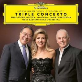 Anne-Sophie Mutter Yo-Yo Ma Beethoven Triple Concerto Cd CD