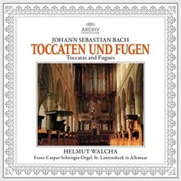 Helmut Walcha Bach Toccaten Und Fugen LP