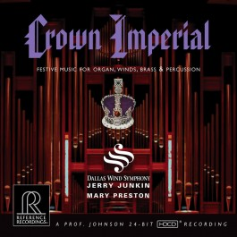Jerry Junkin Dallas Wind Syphony Crown Imperial Festive Music For Organ, Winds, Brass & Percussions CD