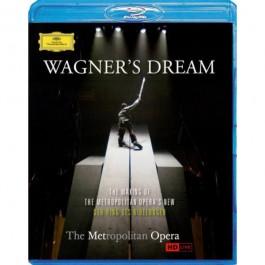 Metropolitan Opera Levine Wagner Wagners Dream Blu-Ray BLU-RAY
