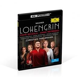 Christian Thielemann Netrebko Beczala Wagner Lohengrin BLU-RAY 4K ULTRA HD