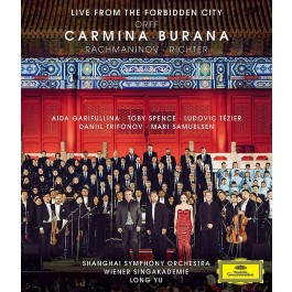 Long Yu Shanghai Symphony Orchestra Orff Carmina Burana BLU-RAY