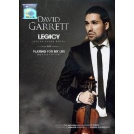 David Garrett Legacy, Live In Baden Baden DVD