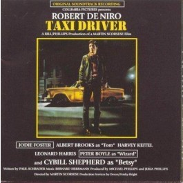 Soundtrack Taxi Driver CD