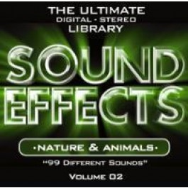 Various Artists Sound Effects Nature & Animals CD