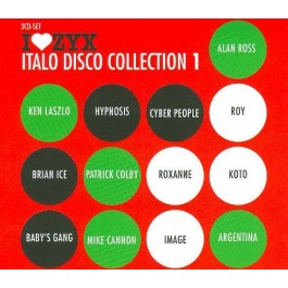 Various Artists Italo Disco Collection 1 CD3