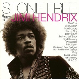Various Artists Stone Free Tribute To Jimi Hendrix Clear And Black Vinyl LP2