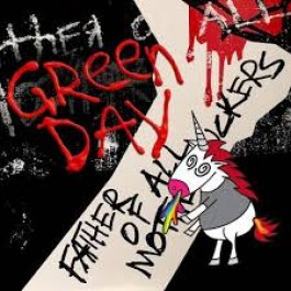 Green Day Father Of All Motherfuckers Limited Cloudy Red LP