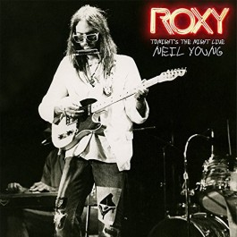Neil Young Roxy Tonights The Night Live LP2